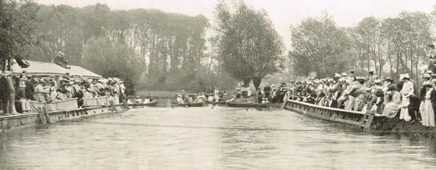 Cambridge University Bathing Place at Granchester