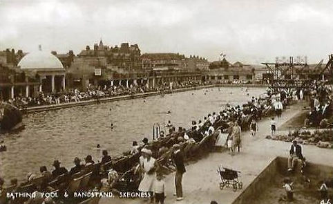 Skegness Bathing Pool Swimming History
