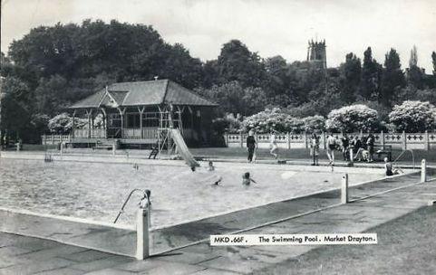 Market Drayton Lido  Swimming History