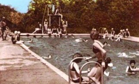 Girl Guide Camp Site Lido Chigwell Row Swimming History