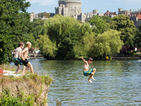 Wild Swimming – Windsor Castle Berkshire