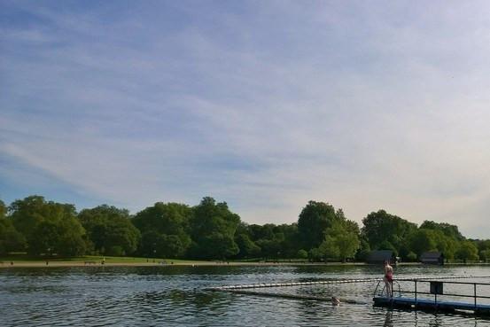 Wild Swimming in the Serpentine London