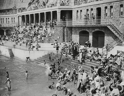 The history of Swimming on Plymouth Hoe, Devon