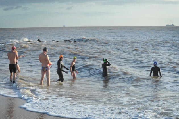 Felixstowe Swimscapes Open Water Swimming