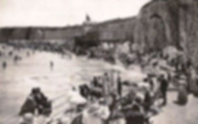 Sea Bathing Cliftonville Margate Swimmin History