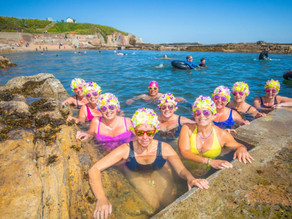 Crumbling Tidal Pools Revived as Wild Swimming Surges.
