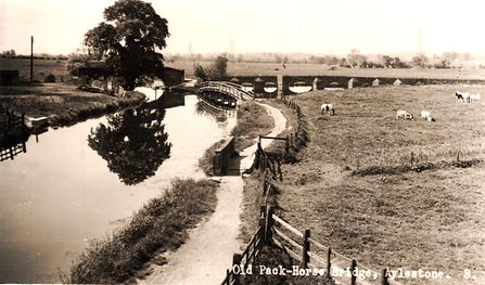 The Pack-Horse Bridge Aylestone Leicester