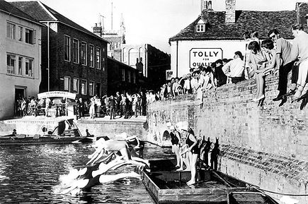 Cam Swim Through Women's event July 1963