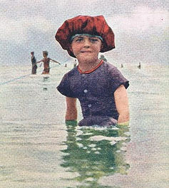 Even children were expected to cover up as the nation took the sea by storm.