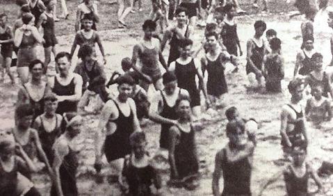 EAST DEREHAM. River swimming History