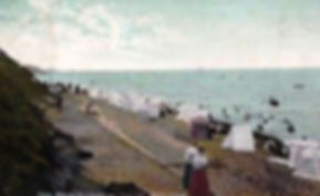 Folkestone Bathing Tents Swimming History