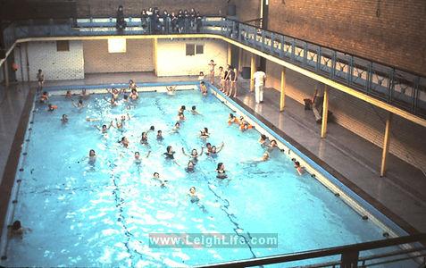 Silk Street Baths Leigh Swimming History