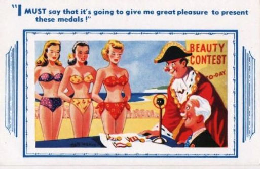 Beauty contests brought an air of decency to the seedy business of ogling ladies in their swimwear.