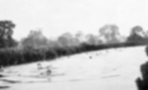 Fishlake Bathing Place Romsey Swimming History