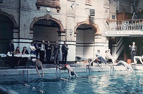 The Victoria Baths Manchester Swimming History