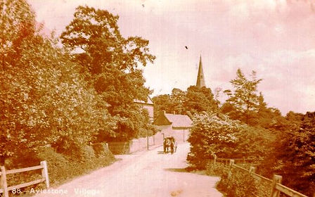The historic village of Aylestone - Leicester