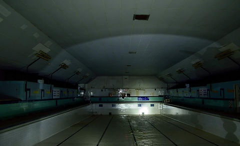 REDDITCH. Hewell road.  Baths Swimming History