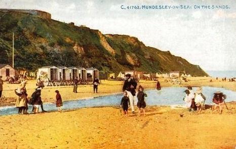 Bathing Machines Mundesley-on-Sea  Swimming History