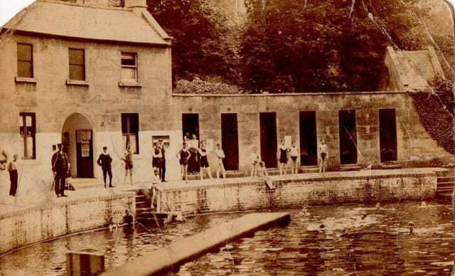 Cleveland Pools in Bath history
