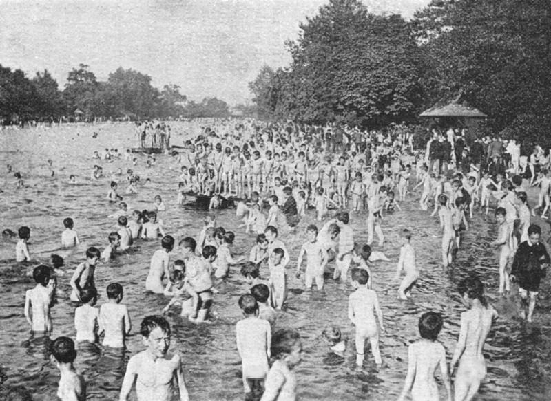The Bathing Lake Victoria Park London
