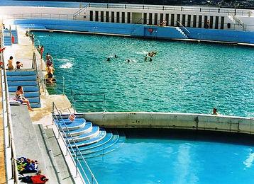 Families enjoy the Jubilee Pool Penzance