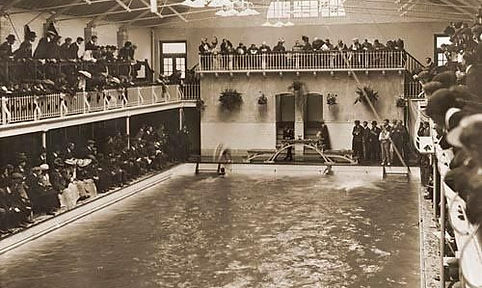 Heene Road Baths Worthing - Swimming History