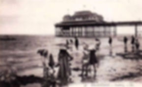 Swimming History Folkstone Beach and Pier