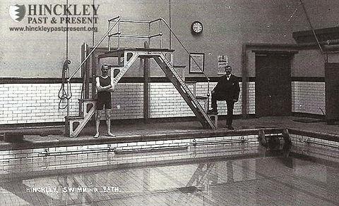 Swimming History Hinckley Swimming Baths Station Road