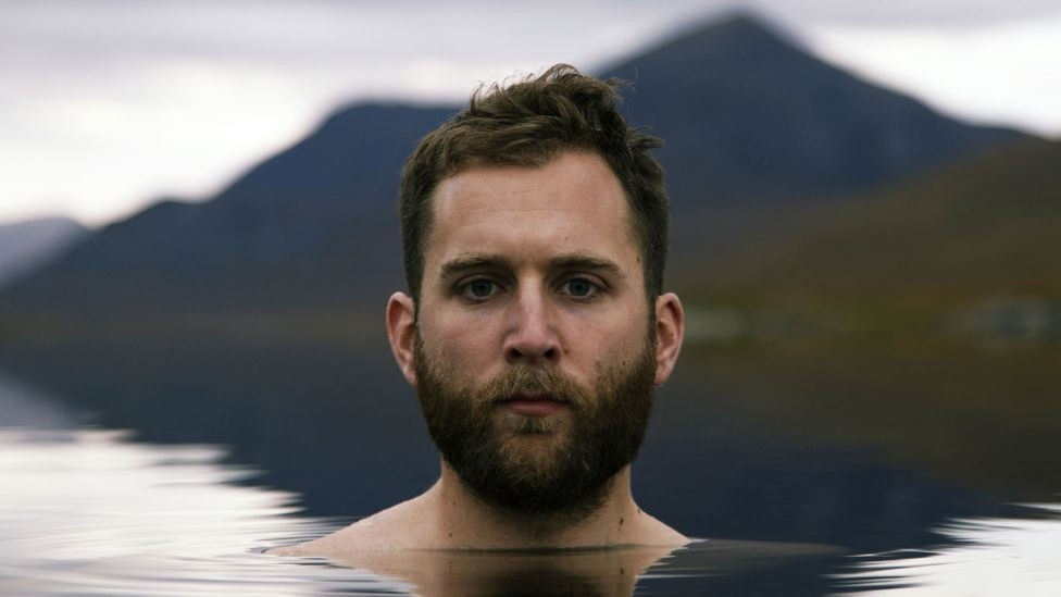 Calum Maclean, from Inverness, makes films and vlogs of his swims