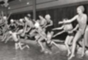 Darlington Public Baths Kendrew Street Swiming History