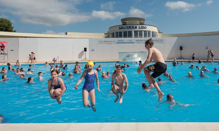 Brighton's Saltdean Lido Reopens