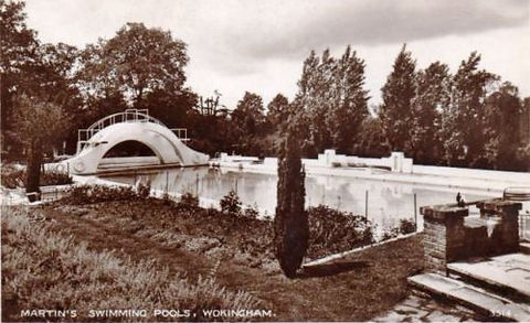 Martins Swimming Pools Wokingham Wiltshire Swimming History