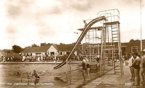 Letchworth Lido Swimming Pool 1953