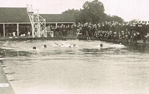 Tonbridge Bathing Place Swimming History