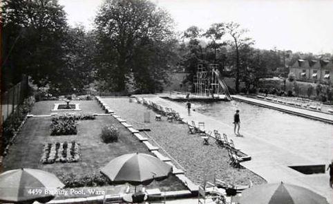 Ware Lido Hertfordshire Swimming History