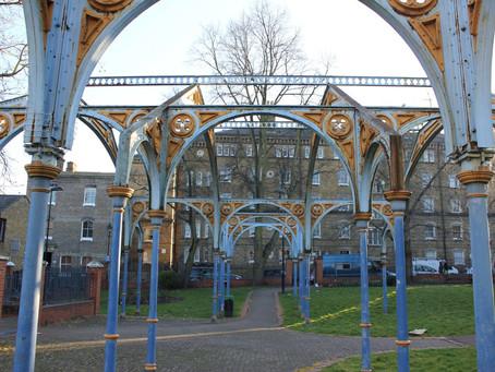 ISLINGTON. Tibberton Square. Public Bath, Greenman Street, London