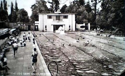 Droitwich Spa Lido Swimming History