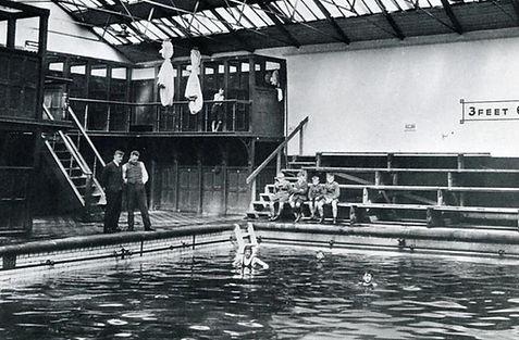 Saul Street Swimming Baths, Preston Swimming History