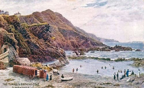 The Tunnels Bathing Cove and tidal Pool Ilfracombe Wild Swimming History