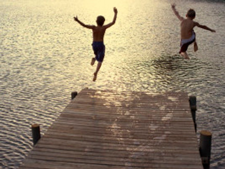 Wild Swimming Can Save Your Child's Life