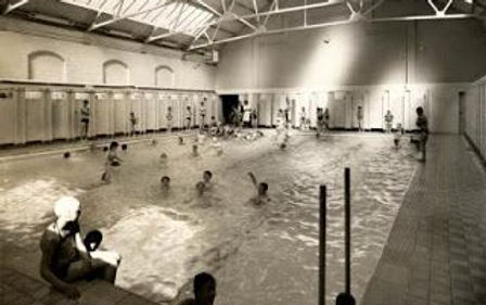 Steble Street Baths Liverpool Swimmig History