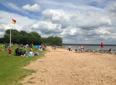 Bigger, Better and its Back! Rutland Water Bathing Beach