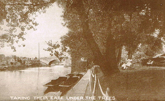 Leicester Aylestone Boat House History. Punting and Gardens