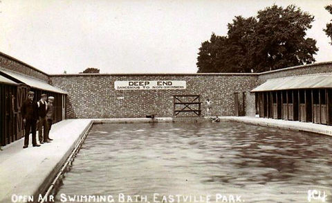 Eastville Park. Swimming Pool Bristol History