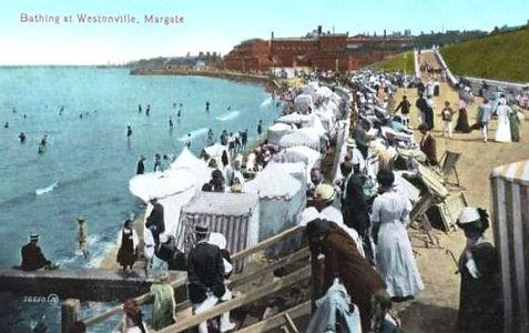 Bathing at Westonville Margate