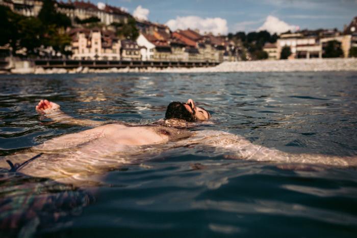 Switzerland Cities: Bern, Schwellenmaetteli