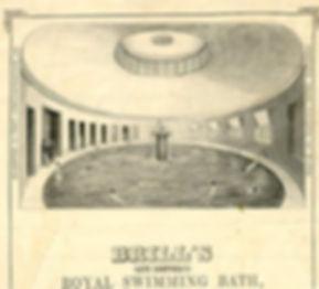 Brighton Public Bath, Brills, East Street Swimming History