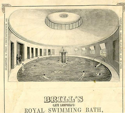 Brighton Public Bath, Brills, East Street Swimming History