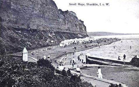 Small Hope Shanklin Sea Bathers wild swimming history
