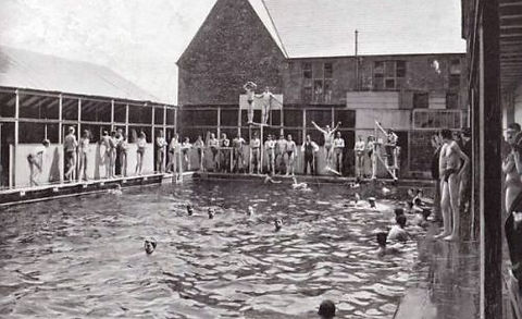 Clifton College Bristol Swimming Pool History